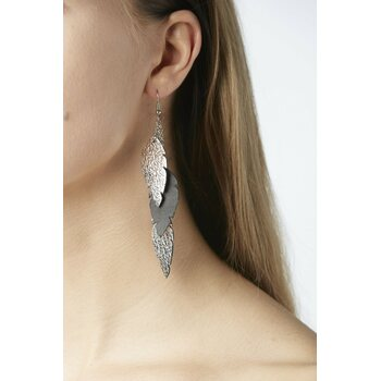 Viaminnet Petite Feathers Feathers Earrings