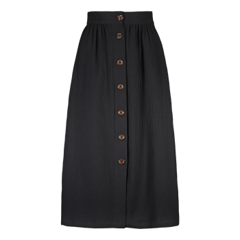 Kaiko Clothing Button Skirt, Black