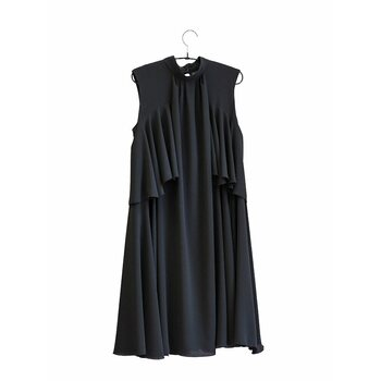 Jatuli Fringe Dress, Musta