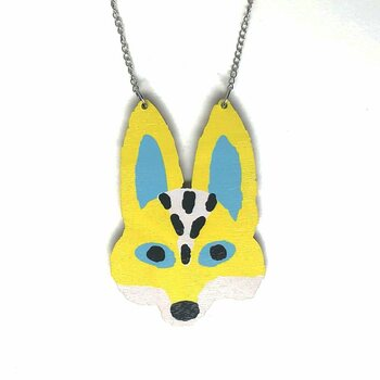 Crazy Granny Designs Fox Necklace - Magic Animal Collection