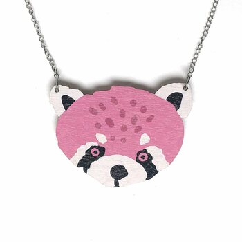 Crazy Granny Designs Red Panda Necklace - Magic Animal Collection