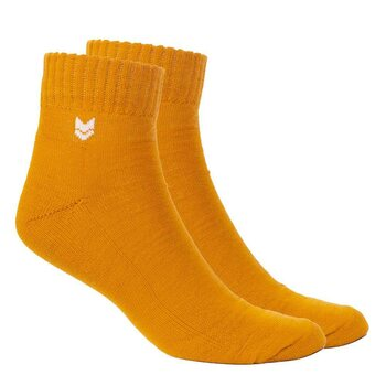 VAI-KØ Merino Wool Quarter Socks, Autumn Gold