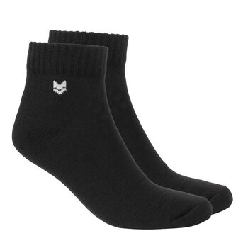 VAI-KØ Merino Wool Quarter Socks, Black