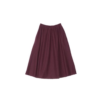 Aarre Ana Skirt, Burgundy dots
