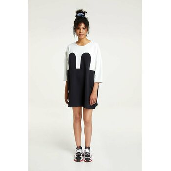 R/H Studio Mickey Square Mekko, Off-white / Black