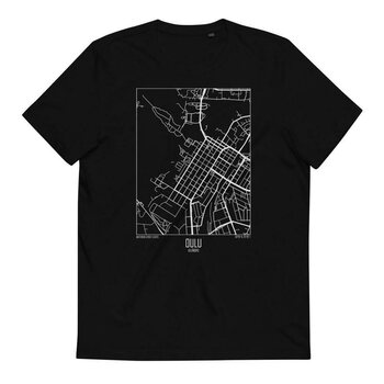 Wulf & Supply Oulu Tee Organic, Black