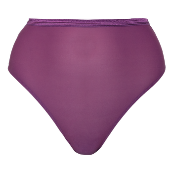 Lovanna Lingerie Glow high-wasted Brazilian, Plum