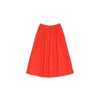 Aarre Ana Skirt, Orange Dots