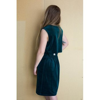 MORICO Ariel Midi Dress, Ocean Green