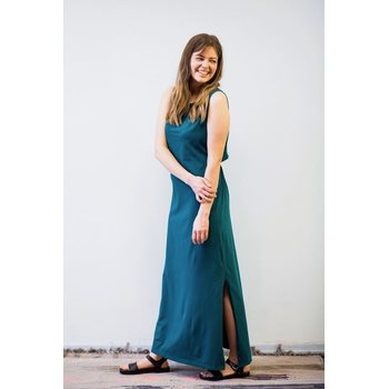 MORICO Ariel Maxi Dress, Emerald