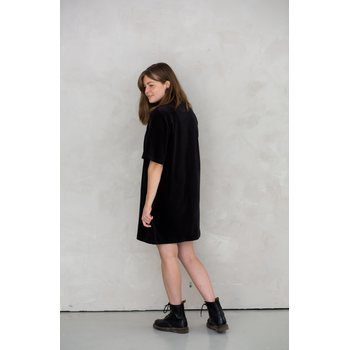 MORICO Juniper Dress Black Velvet