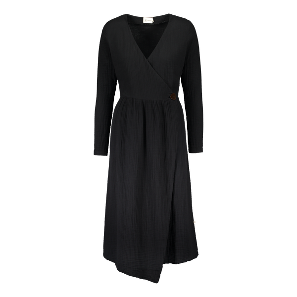 Kaiko Clothing Wrap Midi Dress