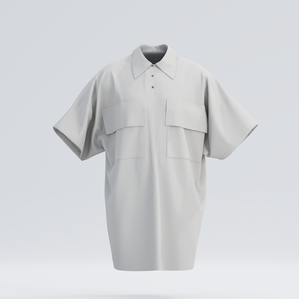 Kabongo Collar Shirt, Natural White