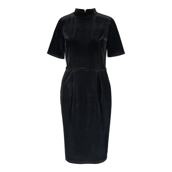 UHANA Timeless Dress, Velvet Black