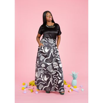 Uhana Design Gorgeus Skirt, Hand in Hand