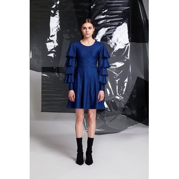 R/H Studio Blues Dress, Space Blue