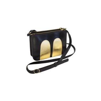 R/H Studio Mickey Handbag, Black / Gold