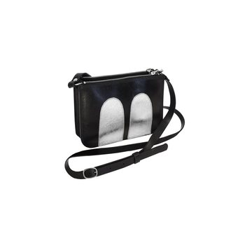 R/H Studio Mickey Handbag, Black / Silver