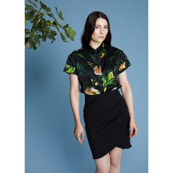Uhana Design Winter Garden Collar Shirt