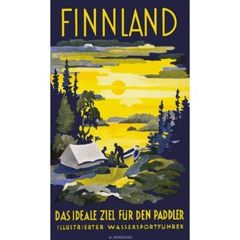 Come To Finland Finnland - Paddler A4 / 8