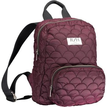 R/H Studio Tornado Mini Backback, Pinot Noir Quilted