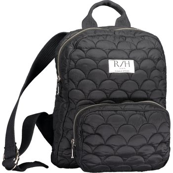 R/H Studio Tornado Mini Backback, Black Quilted