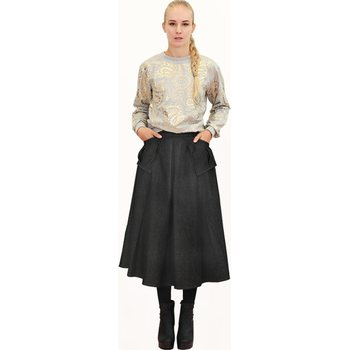 Jatuli Hood Skirt, Denim