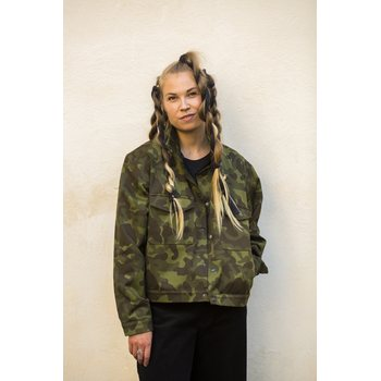 Mori Collective Camouflage Jacket, One Size