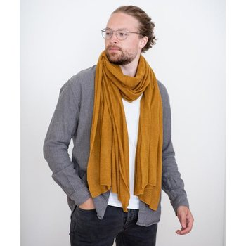 Store of Hope Medium Knitted Cashmere Scarf, Moss