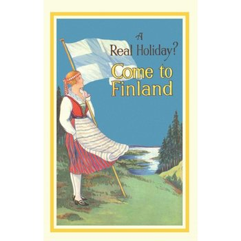 Come To Finland Real holiday A4