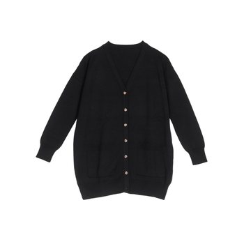 Aarre Edith Knitted Cardigan, Black