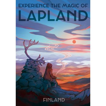 Come To Finland Magic Of Lapland By Emma Chudoba Juliste 50x70