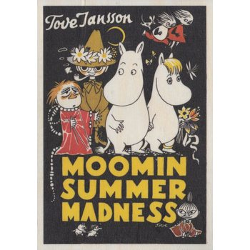 Come To Finland Moomin Summer Madness Puutaulu, A5