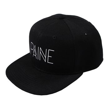 Paine Clothing Paine Snapback, Musta