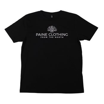 Paine Clothing From The North T-paita, Unisex, Musta
