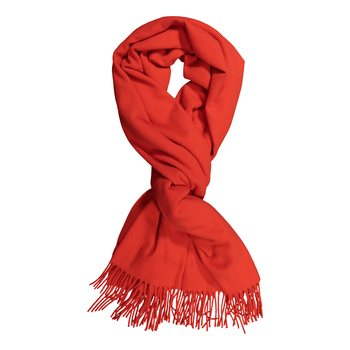 Uhana Design Frost Scarf, Red, One size
