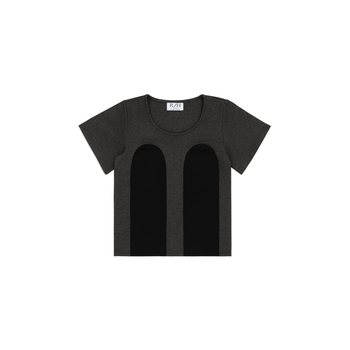 R/H Studio Mickey Tee, Dark Grey / Black