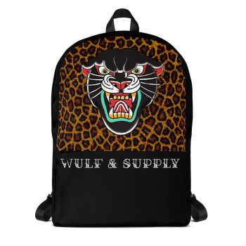 Wulf & Supply Black Leopard Rare Reppu