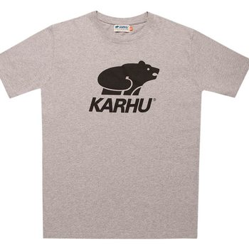 Karhu Basic Logo T-Shirt, Heather gray / Black