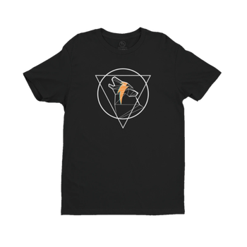 Wulf & Supply ICONIC TEE, Black