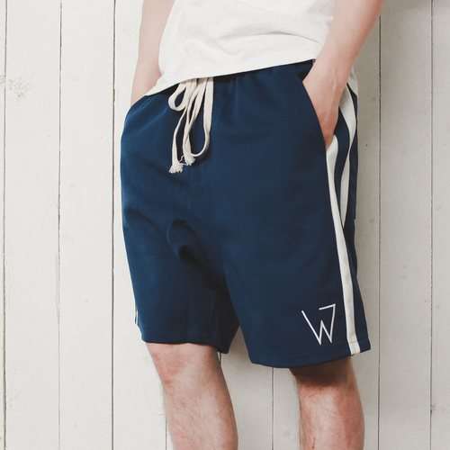 Wulf & Supply W Shorts, Blue