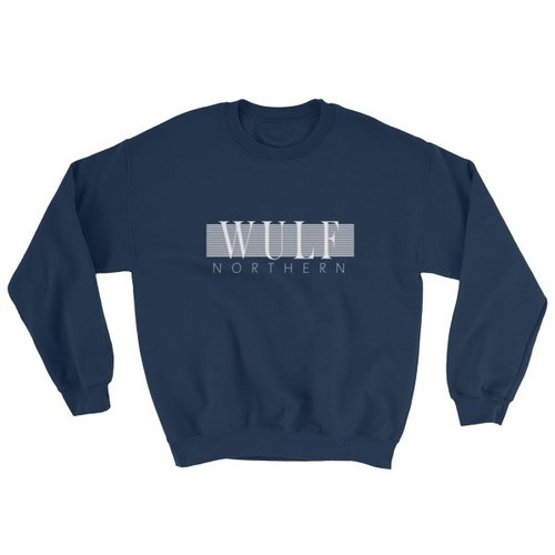 Wulf & Supply Classy Northern Crew-neck, Navy