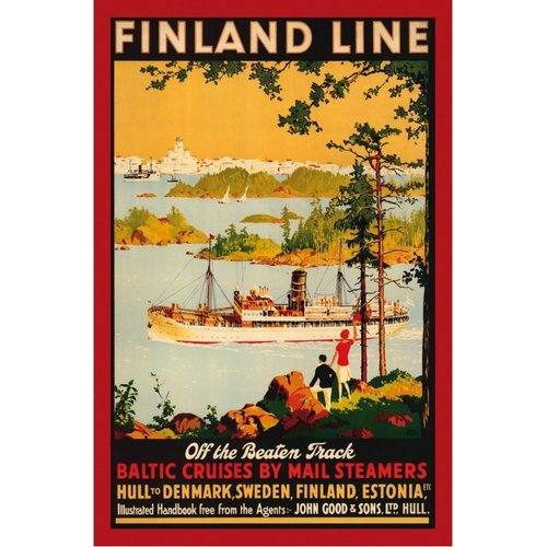 Come To Finland Off the Beaten track: Finland Line A4 / 16