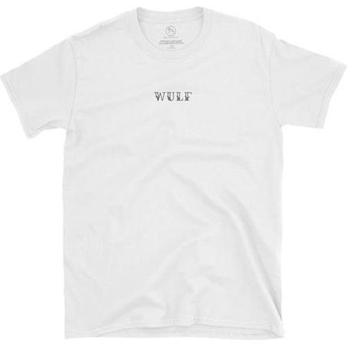 Wulf & Supply Faceless Double Sided Tee, White