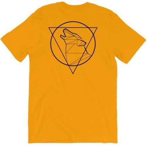 Wulf & Supply Beast Triangle Double Sided Tee, Gold